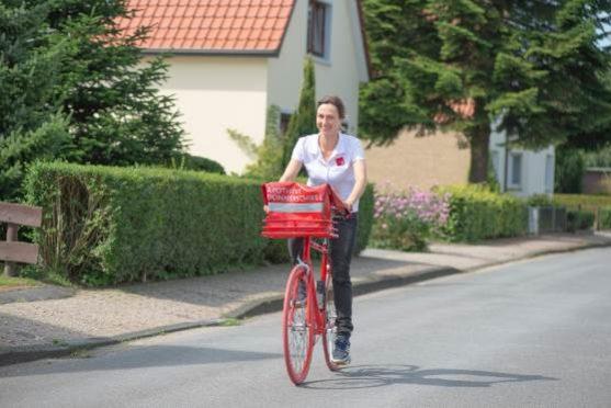 Apotheke Donnerschwee: Lieferservice mit dem Fahrrad